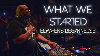 What We Started: EDM-ens begynnelse (2017)