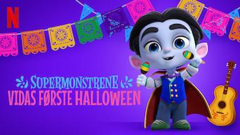 Supermonstrene: Vidas første halloween (2019)