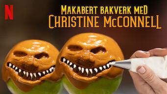 Makabert bakverk med Christine McConnell (2018)