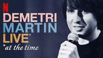 Demetri Martin: Live (At the Time) (2015)