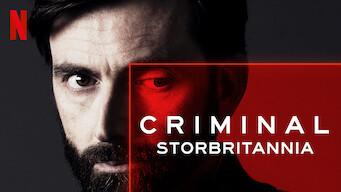Criminal: Storbritannia (2019)