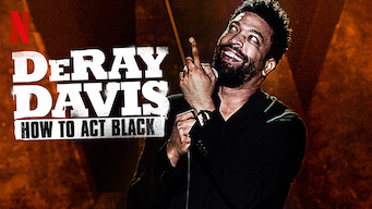 DeRay Davis: How to Act Black (2017)
